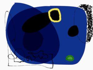 Profondeur bleue